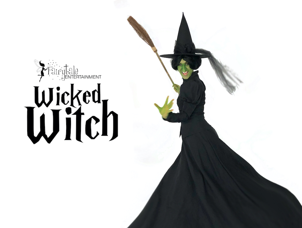 Wicked Witch halloween party character