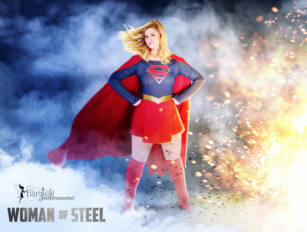 Supergirl character visit, Supergirl character for birthday party