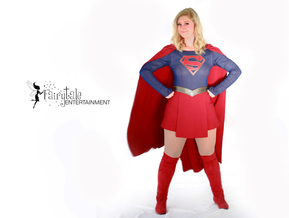 rent a supergirl entertainer near me