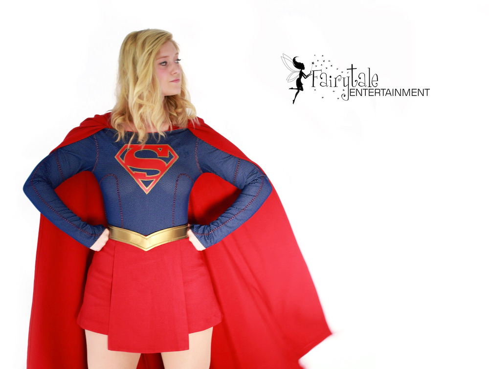supergirl theme birthday party character