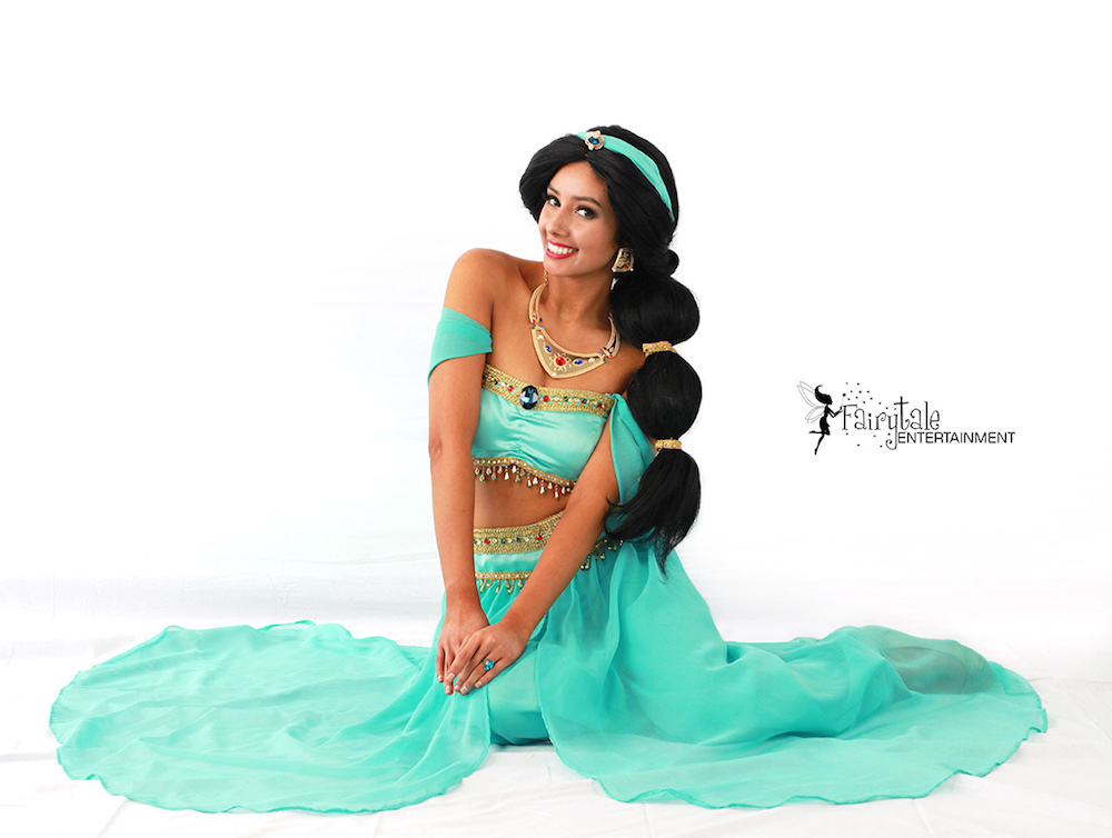 hire Arabian princess party character for girls birthday party