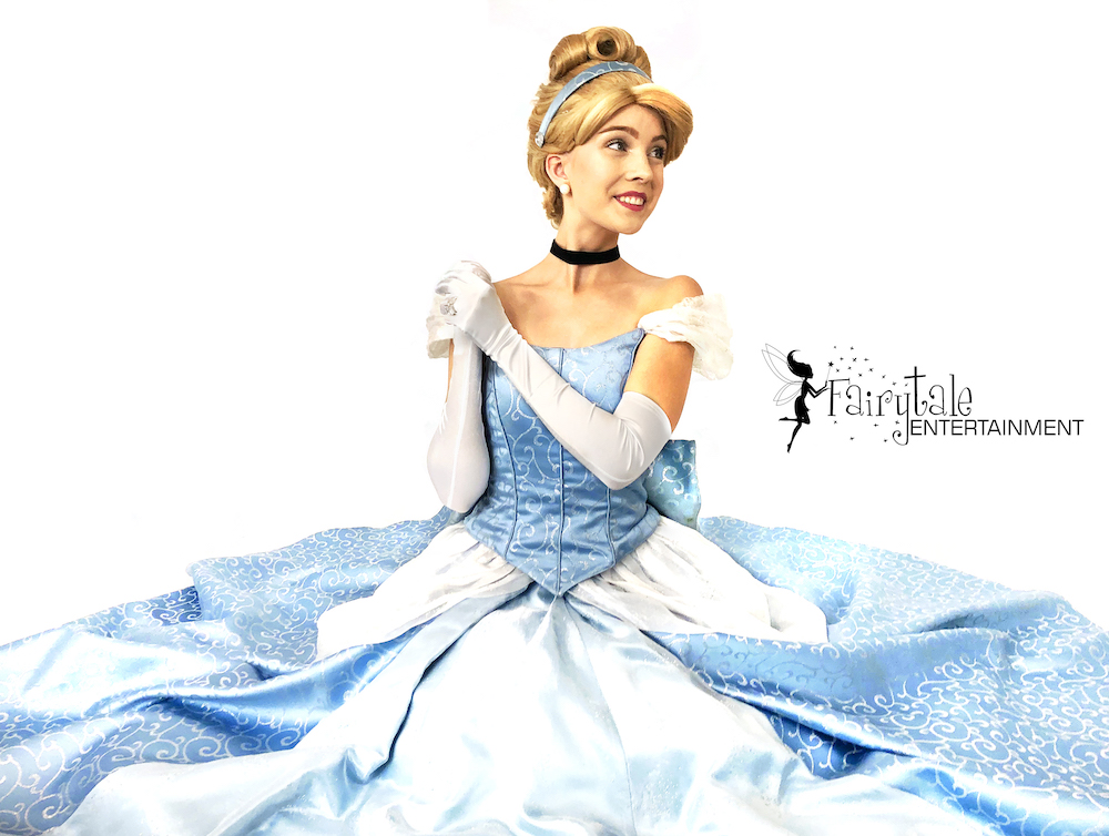 hire disney princess cinderella for birthday party