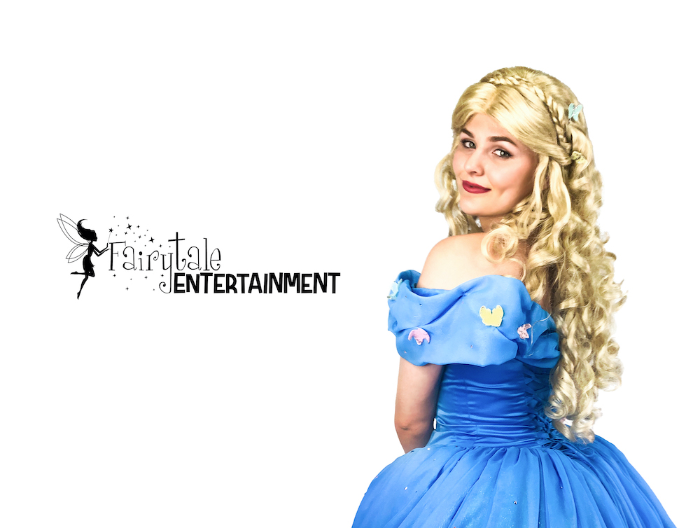 hire new cinderella for kids birthday party