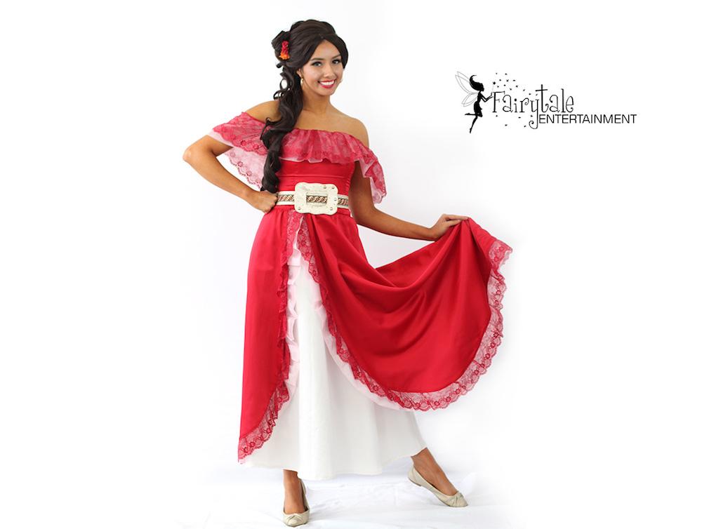 Elena Princess Character for Hire