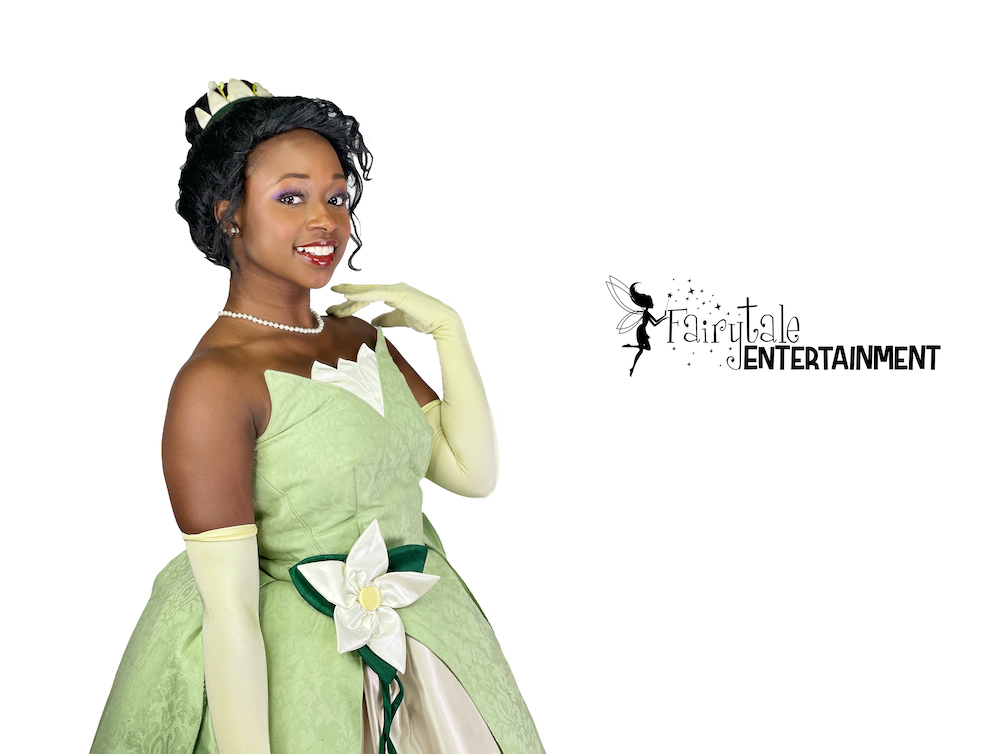 disney princess tiana for hire