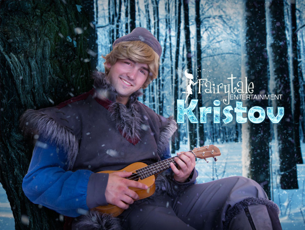 Hire frozen kristoff party character for kids