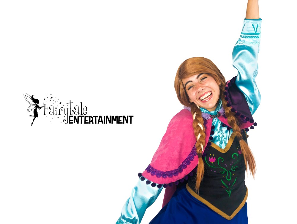 Elsa and Anna Impersonator, Hire Elsa and Anna from Frozen