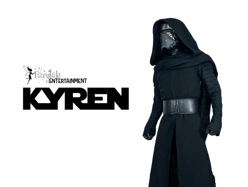 rent kylo ren for kids star wars birthday party