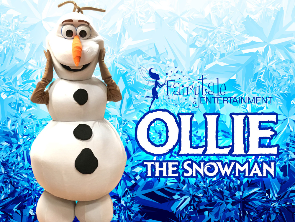 Frozen Olaf Snowman Party, Frozen Princess Party Characters