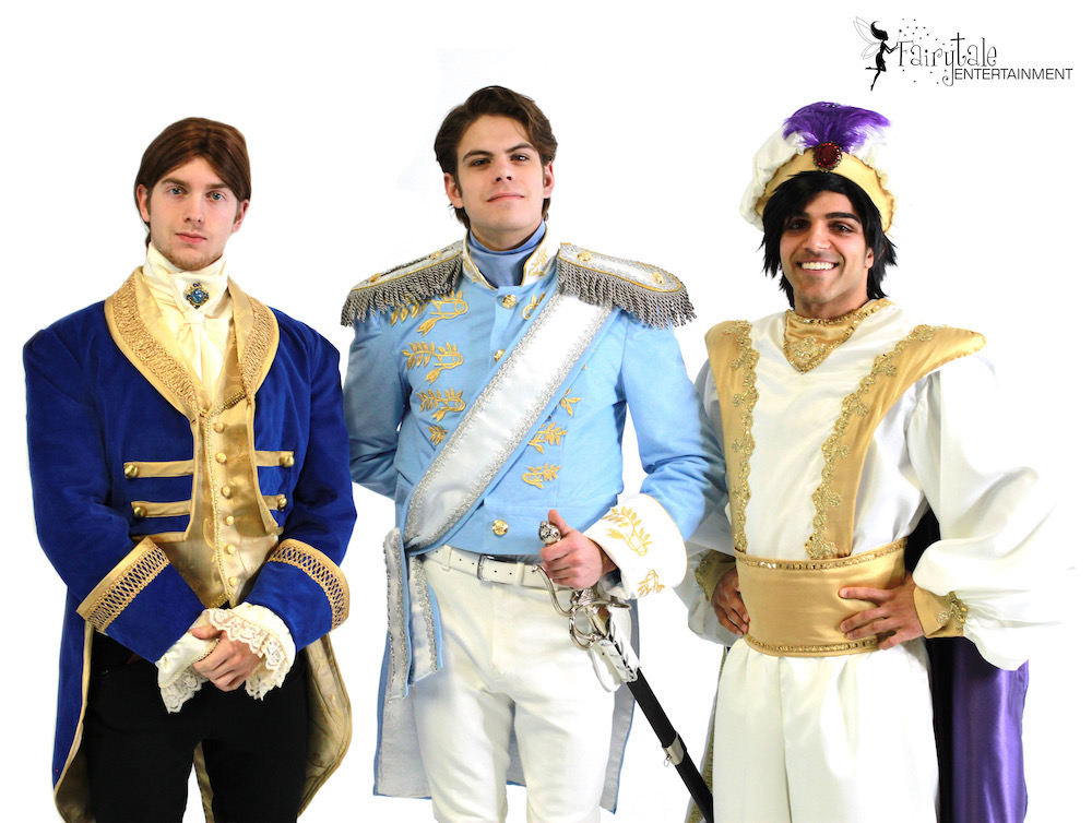 Hire prince charming character for kids birthday party