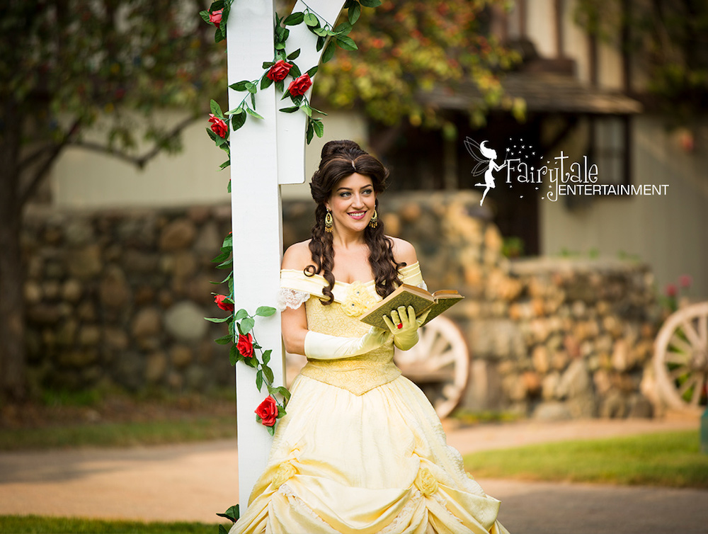 Disney Princess Belle Party Character