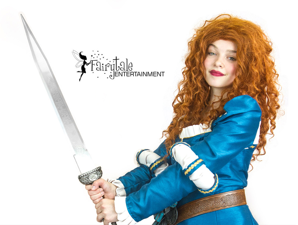 Rent Princess Merida from Brave Byron Center