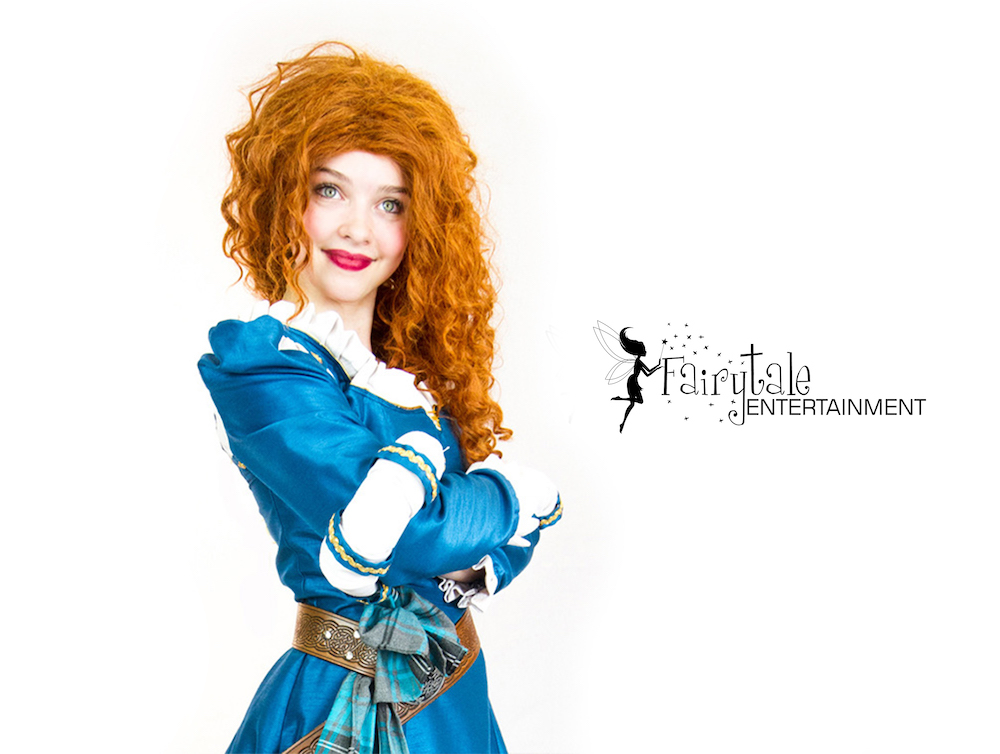 Rent Princess Merida from Brave holland