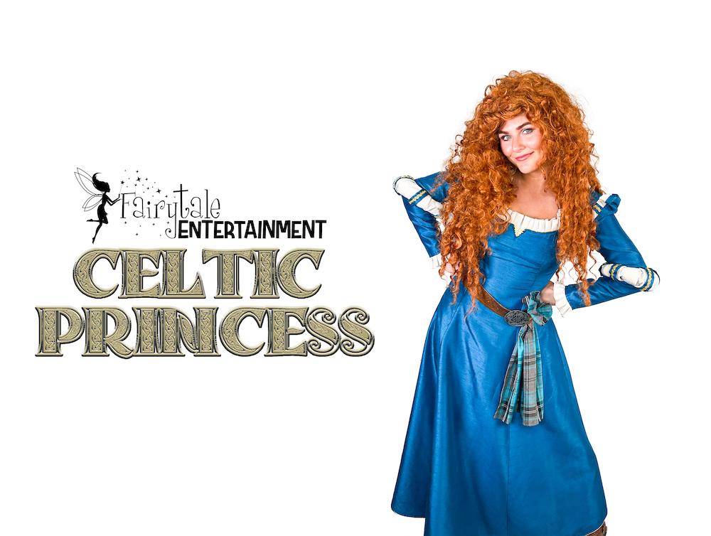 Rent Princess Merida from Brave Grand Rapids