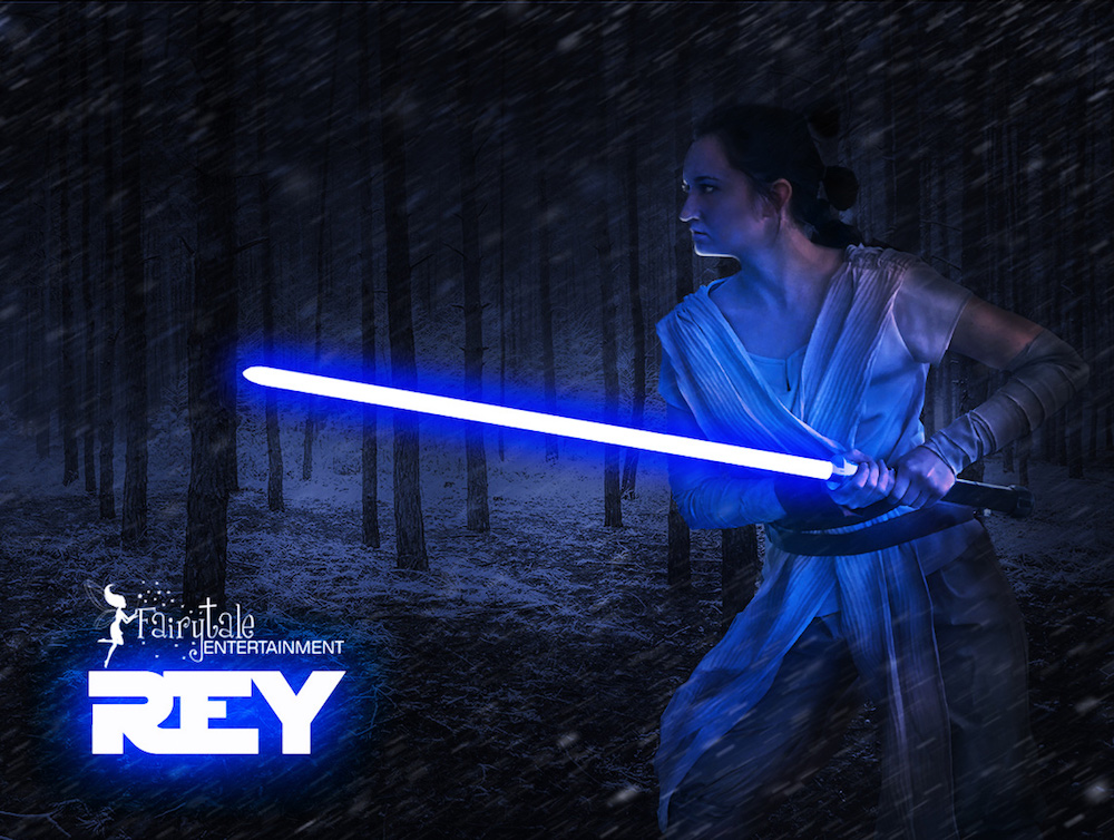 birthday parties for boys,hire rey star wars party character for kids