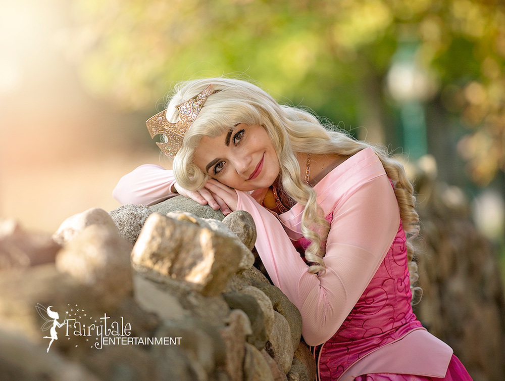 disney princess aurora party character for birthday party