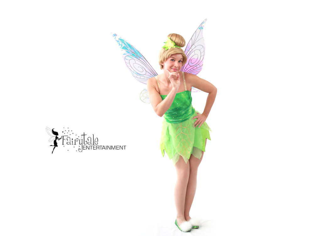 Rent Tinkerbell Party Character for Kids Birthday, Disney Tinker Bell for Hire