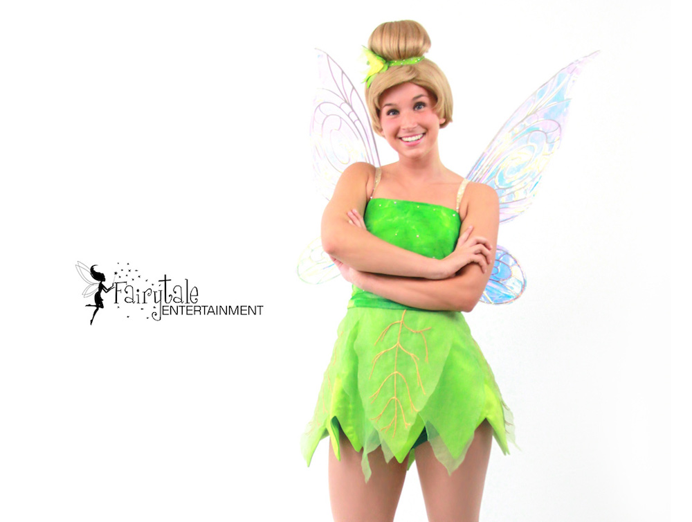 Tinker Bell and Peter Pan Party Characters for Hire, Disney Tinker Bell for Kids Birthday Party