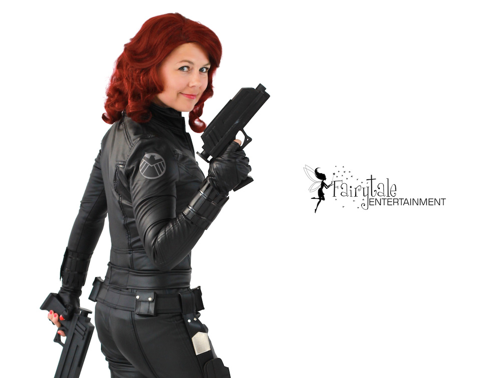 Black Widow Characters for Hire, Hire Avengers superhero characters for kids