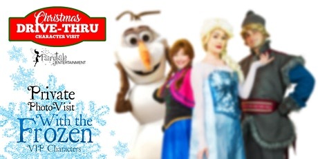 Private Photo Visit with Frozen Characters in Metro Detroit Michigan